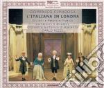 Italiana in londra-peters,pratico, rizzi cd musicale di Cimarosa