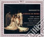 Esule di roma cd musicale di Donizetti