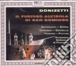 Furioso all'isola di s.domingo cd musicale di Donizetti