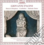 Giuseppe Pacini - Messa Da Requiem - Confitebor - Sinfonia Dante cd musicale di Pacini