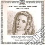 Adriano in siria cd musicale di Pergolesi