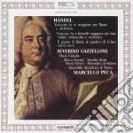 Georg Friedrich Handel - Concerto In Re Maggiore Per Flauto, Concerto In Si Bemolle Maggiore Per Due Violini E Violoncello, Il Pianto Di Maria Al Sep cd musicale di Handel