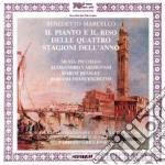 Pianto e il riso delle 4 stagioni cd musicale di B. Marcello