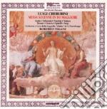 Luigi Cherubini - Messa Solenne In Do Maggiore Per Soli, Coro E Orchestra cd musicale di Cherubini