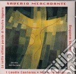 Mercadante Le Sette Ultime Parole cd musicale di Mercadante