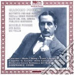 Puccini - Preludio Sinfonico, Vexilla Regis, Mottetto Per San Paolino, Kyrie, Ave Maria, Qui Tollis cd musicale di Puccini g. & m.