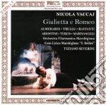Giulietta e romeo - almeras, severini cd musicale di Vaccaj