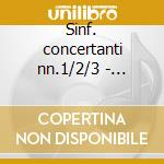 Sinf. concertanti nn.1/2/3 - sedazzari cd musicale di Mercadante