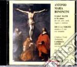 Bononcini Stabat Mater Dio E La Vergine cd musicale di Bononcini