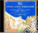 Antonio Caldara - Stabat Mater A Quattro Voci cd musicale di Caldara