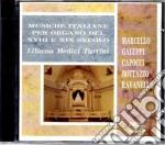 Musiche Per Organo Fra Sette E Ottocento cd musicale di Artisti Vari