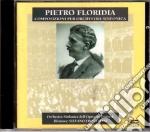 Pietro Floridia - Ouverture Festiva, Serenata Per Archi, Sinfonia In Fa Minore, Maruzza: Interludio cd musicale di P. Floridia
