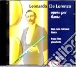 De Lorenzo Musica Per Flauto E Piano cd musicale di De lorenzo l.