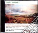 Conc.vln.do d/sinf.n.2-o.sinf. ss,tigani cd musicale di F. Berwald