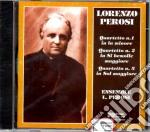 Lorenzo Perosi - Quartetti Nn. 1-2-3 cd musicale di L. Perosi
