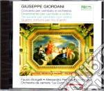 Giuseppe Giordani - Composizione Varie Per Cembalo E Orchestra cd musicale di G. Giordani