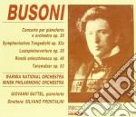 Busoni - Concerto Per Piano Op.39 cd musicale di Busoni
