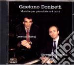 Gaetano Donizetti - Musiche Per 2 Pianoforti cd musicale di Donizetti