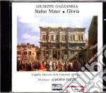 Stabat mater/gloria - a. turco cd musicale di G. Gazzaniga