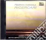 Federico Amendola - Ricercari cd musicale di Amendola/patumi