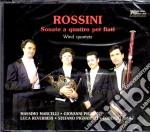Rossini Sonate A Quattro -per Fiati- cd musicale di Rossini