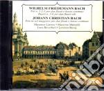 Bach / Wilhelm Friedemann / Bach /Johann Christian - Trii N. 1-2-3  Duetto N. 3-6, Trio In Sol Maggiore cd musicale di Bach w.f./bach j.c.
