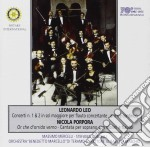 Leo Concerti Per Flauto Nn.1 2 cd musicale di L./porpora Leo