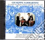Sammartini G Sonate Per Flauto Op.2/1 cd musicale di G. Sammartini