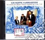 Giuseppe  Sammartini - Sonate Per Flauto E Basso Continuo Op. 2 Nn. 7-12 cd musicale di G. Sammartini