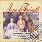 Manzotti Angelo  - Arie Di Farinelli cd musicale di Angelo Manzotti