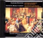 Giuseppe Cambini / Gaspare Spontini - Tre Sinfonie Concertanti Per Flauto, Oboe E Orchestra, Notturno Concertato Con Vari Strumenti cd musicale di Cambini/spontini