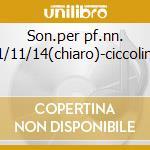 Son.per pf.nn. 1/11/14(chiaro)-ciccolini cd musicale di Beethoven