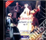 Tomaso Albinoni - Balletti A Tre Op. III cd musicale di Albinoni