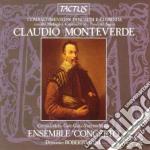 Ensemble Concerto - Combattimento Di Tancredi E Clorinda cd musicale di Claudio Monteverdi