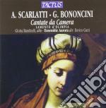 Ensemble Aurora - Cantate Da Camera cd musicale di Scarlatti a. bononcin
