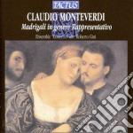 Ensemble Concerto - Madrigali cd musicale di Claudio Monteverdi