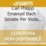 SON.*VLA.GAMBA B.C. PANDOLFO(VLA)-AL cd musicale di BACH C.P.E.