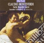 Ensemble Concerto - Varie Musiche Sacre A 1 E 2 Voci cd musicale di MONTEVERDI