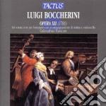 Sei sonate a tre 1943/805 cd musicale di Luigi Boccherini