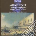 Opera per traversiere rv 427,533 cd musicale di Antonio Vivaldi
