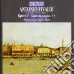Opere a stampa op.i sonate 1/6 cd musicale di Antonio Vivaldi