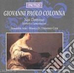 Ensemble Arte-musica - Nisi Dominus cd musicale di Colonna giovanni pao