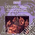 Canzoni e sonate cd musicale di Andrea Gabrieli