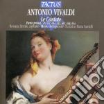 Cantate, le (parte prima) cd musicale di Antonio Vivaldi