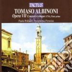 Opera vii concerti a 5 parte 1 cd musicale di Tommaso Albinoni