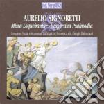 La Stagione Armonica - Missa Loquebantur cd musicale di Aurelio Signoretti