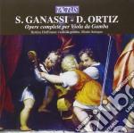 Modo Antiquo - Opere Complete Per Viola Da Gamba cd musicale di Ganassi s./ortiz d.