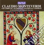Il Ruggiero - Viii Libro De' Madrigali cd musicale di Claudio Monteverdi
