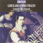 Canzoni alla francese cd musicale di Girolamo Frescobaldi