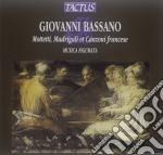 Motetti madrigali diminuiti cd musicale di Giovanni Bassano